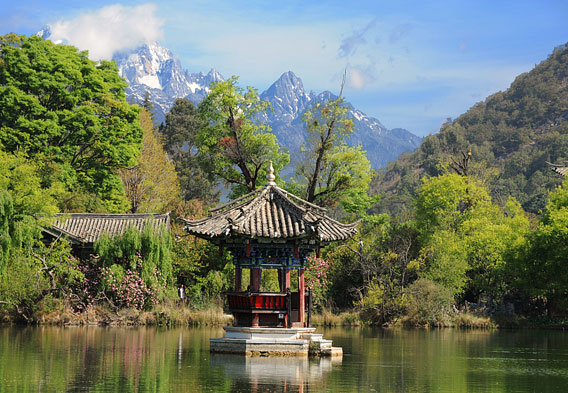 Black Dragon Pool & Jade Dragon Snow Mountain