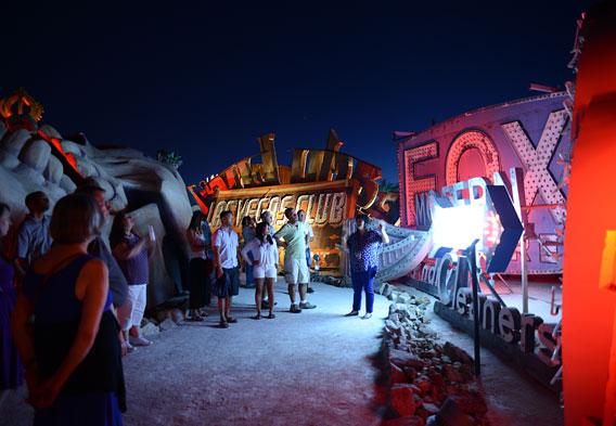 Neon Museum Boneyard Tour
