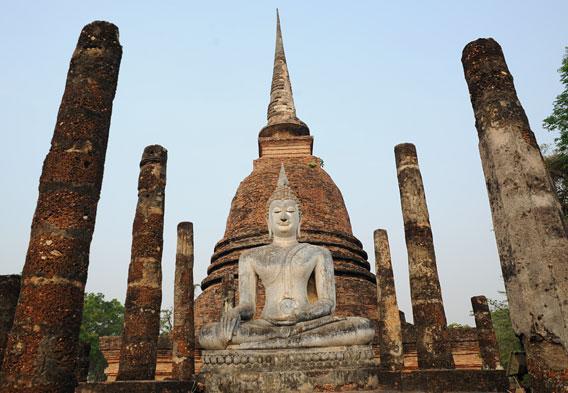 Sukhothai Thailand  Wat Mahathat