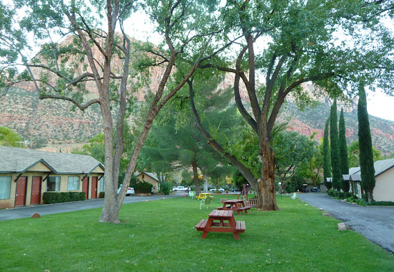 Zion National Park Lodging